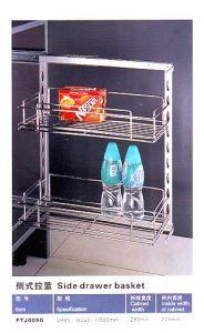 Ptj009g Kitchen Hardware Side Drawer Basket pictures & photos