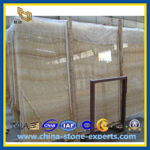 Yellow Marble Honey Onyx Slab (YQZ-MS1016) pictures & photos