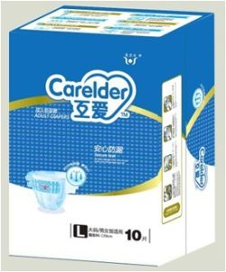 Disposable Adult Diaper with Magic Tape pictures & photos