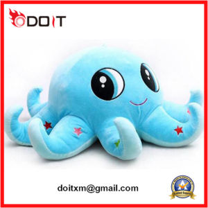 Blue Stuffed Animal Plush Toy Octopus with Big Eyes pictures & photos