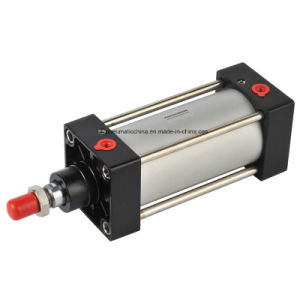 ISO6431pneumatic Solenoid Air Cushioning Cylinder (ST Series) pictures & photos