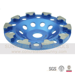 T-Segmented Diamond Grinding Cup Wheels pictures & photos