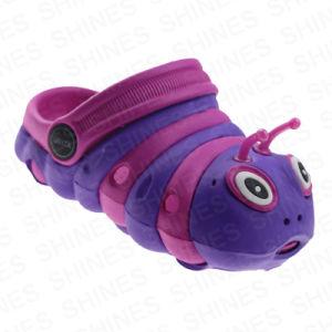 Caterpillar Shape EVA Garden Shoes for Girls pictures & photos