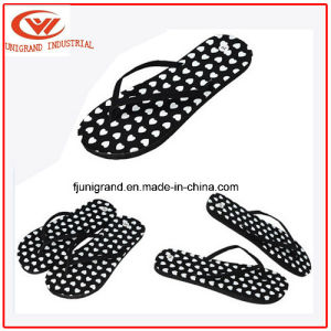 Summer Fashion EVA Slipper Confortable Ladies Beach Flip Flops for Women pictures & photos