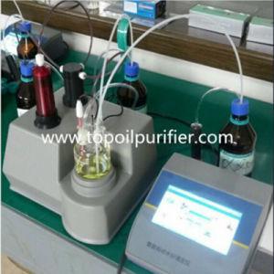 Karl Fischer Lube Oil Transformer Oil Water Titrator Analyzer (TPD-2G) pictures & photos