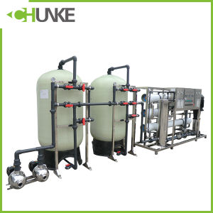 Chunke Reverse Osmosis System Water Treatment Equipment 1000L/H pictures & photos