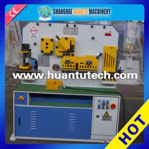 Hydraulic Ironworker with Punching, Shearing and Notching Function pictures & photos