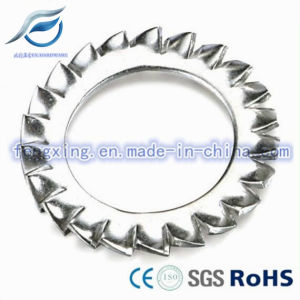 Custom External Teeth Serrated Lock Washer pictures & photos