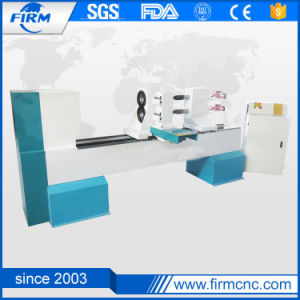 China Sale CNC Wood Turning Lathe Machine for Woodworking pictures & photos