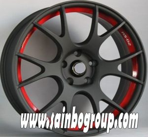 8*100/114.3mm 17 Inch Colorful Car Alloy Wheel pictures & photos