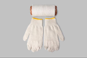 Gloves Cotton Yarns Green Environmental pictures & photos