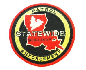 Custom Make a Embroidery Police Patch pictures & photos