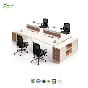 China Modern Office Desk Wood Partition Workstation Office