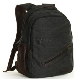 The Black School Bag Fashion Backpack (hx-q027) pictures & photos