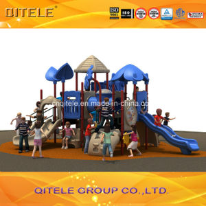 2015 Qitele Outdoor Playground Equipment with Plastic Slide (KSII-19701) pictures & photos
