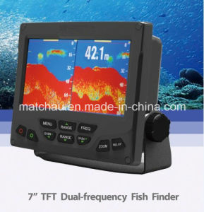 7′′ TFT Dual Frequency Boat Fish Finder pictures & photos