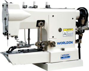 Wd-4-2 High Speed Button Attaching Sewing Machine pictures & photos