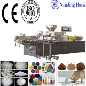 PE PP Film Pelletizing Machine Plastic Single Screw Extruder Line pictures & photos
