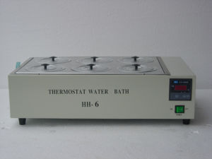 6 Holes Thermostat Water Bath Hh-6 1.5kw pictures & photos