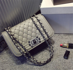 Latest Design Fashion Style Women′s Leather Shoulder Bag pictures & photos