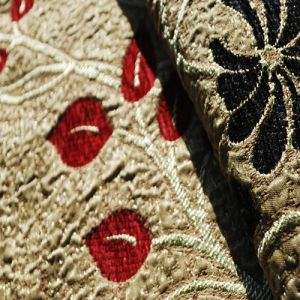 Dubai Sofa Fabric Jacquard Chenille Fabric (FTH31036) pictures & photos