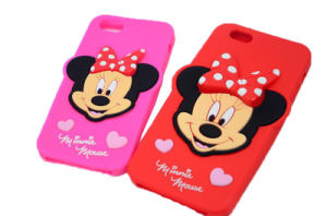 Cute Soft Cartoon Minnie Silicone Phone Case for Oppo A59 A57 A59s Cell Phone Case (XSD-044) pictures & photos