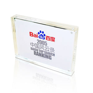 A5 Size Plexiglass Picture Block for Business Card pictures & photos
