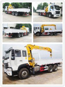 Sinotruk HOWO 10 Wheels Heavy Duty Crane Truck pictures & photos