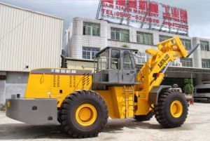 Block Handler Fork with Front Wheel Loader pictures & photos