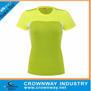 Men Polyester Sports T-Shirt, Running T-Shirt with Custom Logo Printing pictures & photos
