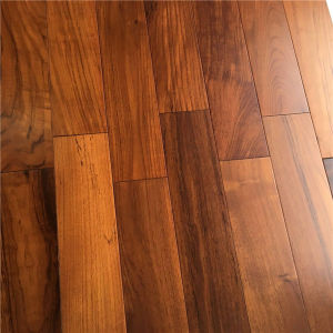 Factory Price T&G System Burma Teak Solid Wood Flooring pictures & photos