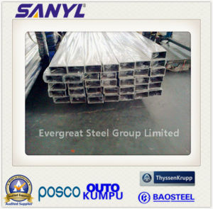 ASTM/AISI/JIS/SUS 201 304 316L Stainless Steel Tube Pipe pictures & photos