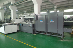 Plastic Container Automatic Screen Printing Machine 4000PCS / Hr with Unscramble pictures & photos