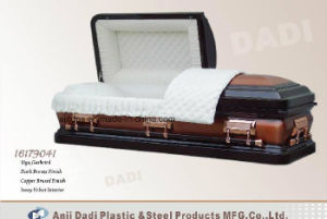 American Style Steel Coffin (16179041) pictures & photos
