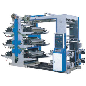 Six-Color Flexible Letter Pressing Machine pictures & photos