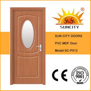 Nigeria Cheap MDF Door Coated PVC (SC-P012) pictures & photos