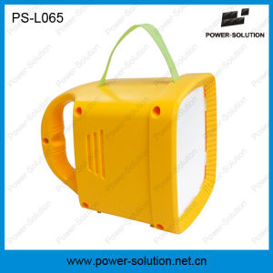 Rechargeble Solar LED Lantern with FM Radio Mobile Charging pictures & photos