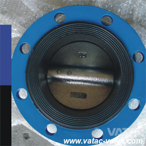 Flanged Best Quality Stock ASTM A126 B&A536 High Performance Butterfly Valve pictures & photos