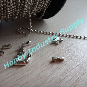 Wholesale for 2.4mm Metal Beaded Ball Chain with Connectors