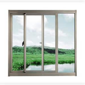 Lasted Design Double Glazing Aluminum / Aluminium Metal Fixed Glass Sliding Window