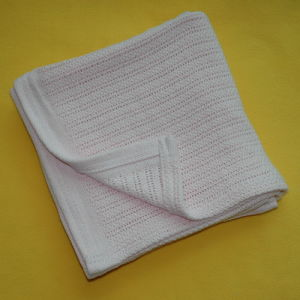 Soft Cotton Cellular Baby Blanket CB-1309102 pictures & photos