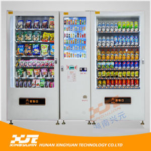 110 Selections High Capacity Master & Slave Combination Vending Machine for Snack and Drink pictures & photos