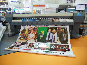 Large Format Eco Solvent Printer with Epson Dx5 Double Print Head (INV-LFP1800)