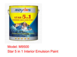Maydos Star 5 in 1 Interior Emulsion Paint pictures & photos