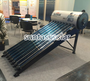 Domestic Solar Heating Compact Heat Pipe Solar Water Heater (A9H) pictures & photos