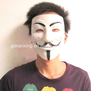 Latex V for Vendetta Mask Anonymous Mask Guy Fawkes Mask pictures & photos