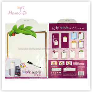 Promotional Gift 33*48cm Wall/ Icebox Memo Pad Sticker with Marker pictures & photos