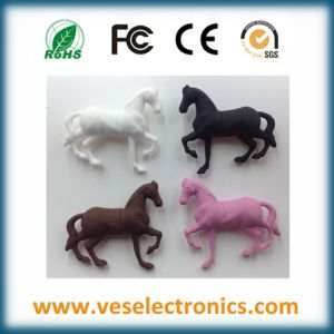 Horse Shape Christmas Gift USB Disk for Corporate Pen Drive pictures & photos