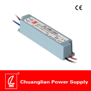 35W IP67 Constant Voltage Plastic Case LED Driver with Pfc