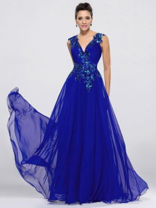 V-Neck Popular Party Evening Dress